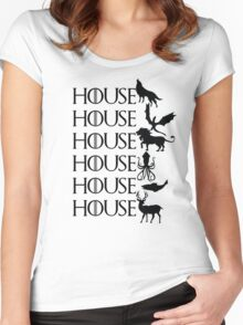 Game of Thrones - House Women's Fitted Scoop T-Shirt