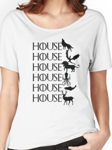 Game of Thrones - House Women's Relaxed Fit T-Shirt