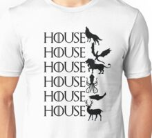 Game of Thrones - House Unisex T-Shirt