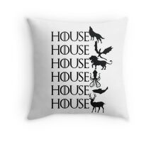 Game of Thrones - House Throw Pillow
