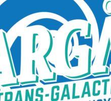 Stargate - Trans-galactic travel agency - blue Sticker