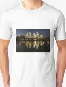 Ships in the night - Melbourne Australia Unisex T-Shirt