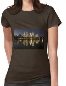 Ships in the night - Melbourne Australia Womens Fitted T-Shirt