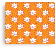 Takasaki Magnolia - Orange & Pink Canvas Print