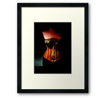 The Corset Framed Print