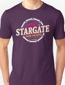 Stargate - Trans-galactic travel agency - yellow T-Shirt