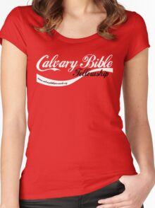 CBF Cola Design Women's Fitted Scoop T-Shirt