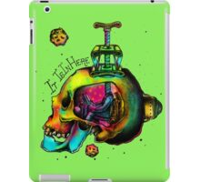 Life Skull Boy iPad Case/Skin