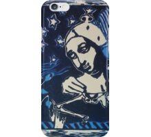 Wingnut in blue iPhone Case/Skin