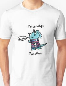 The Marathon Triceratops  Unisex T-Shirt