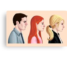 BTVS - Scoobies Canvas Print