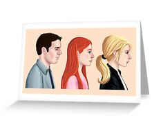 BTVS - Scoobies Greeting Card