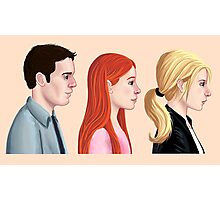 BTVS - Scoobies Photographic Print