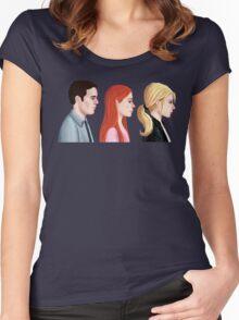 BTVS - Scoobies Women's Fitted Scoop T-Shirt