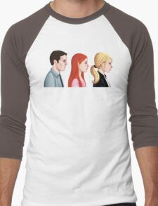 BTVS - Scoobies Men's Baseball ¾ T-Shirt