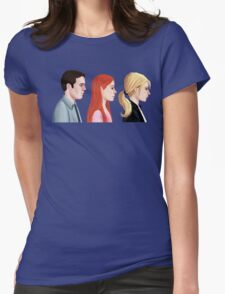 BTVS - Scoobies Womens Fitted T-Shirt