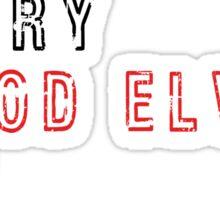 Get over it! - Tauren/Blood Elves Sticker