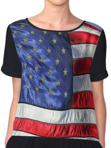 Born in the USA Chiffon Top