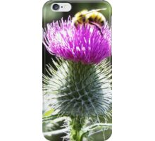 Bumblebee on Thistle II iPhone Case/Skin