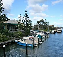 Mooring Spot, Mordialloc by Maggie Hegarty