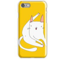 Cat shower! iPhone Case/Skin