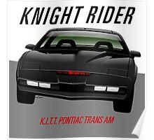 Knight Rider Pontiac Trans Am 1982 Poster