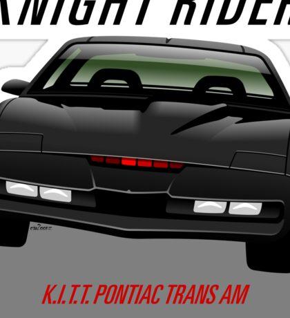 Knight Rider Pontiac Trans Am 1982 Sticker