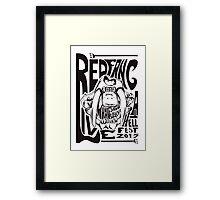 Red Fang Framed Print