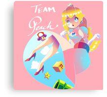 Team Peach Canvas Print