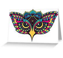 Mandala Owl Greeting Card
