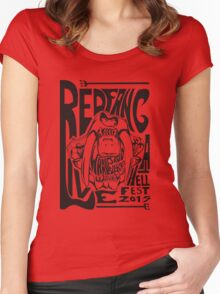 Red Fang Women's Fitted Scoop T-Shirt