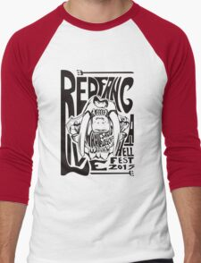 Red Fang Men's Baseball ¾ T-Shirt