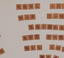 Fridge Magnets Sticker