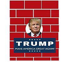 Trump Wall Campaign Photographic Print