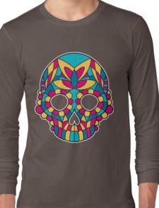 Mandala skull Long Sleeve T-Shirt