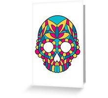 Mandala skull Greeting Card