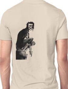 Gothic Gargoyle Perch (full alpha) Unisex T-Shirt