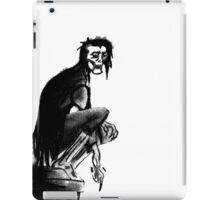 Gothic Gargoyle Perch (full alpha) iPad Case/Skin