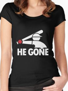 Chicago White Sox- He Gone Women's Fitted Scoop T-Shirt
