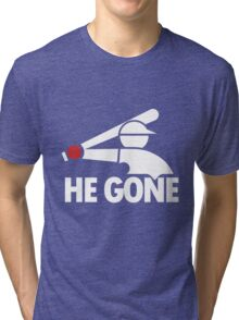 Chicago White Sox- He Gone Tri-blend T-Shirt