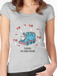 Thomas the Dank Engine Women's Fitted Scoop T-Shirt