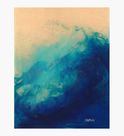 Crazy Blue Sea 2  Photographic Print