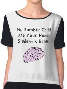 Zombie Child Honor Student Chiffon Top