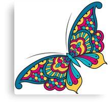 Mandala Butterfly Canvas Print