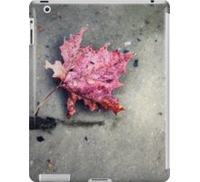 Floating Leaf - Shadows iPad Case/Skin