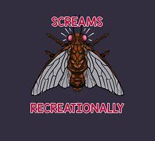 RECREATIONAL SCREAMING Women's Fitted V-Neck T-Shirt