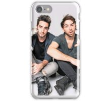 Jack and Alex with dogs iPhone Case/Skin