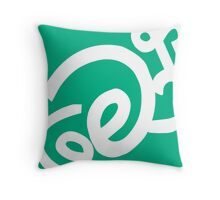 Moron Vines & Stuff Throw Pillow