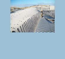 Fences Shadows and Sand Dunes T-Shirt