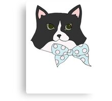 Bow Tie Jemima Canvas Print